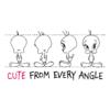 Kép 2/3 - CUTE from every angle  | grafikás Looney Tunes női pamutpóló