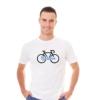 Kép 3/4 - Balaton   bicikli mintás férfi póló