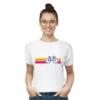 Kép 1/4 - SzÍnes bicikli   bicikli mintás női póló