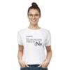 Kép 3/4 - CYCOPATH   bicikli mintás női póló