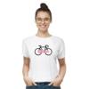Kép 1/4 - Balaton | bicikli mintás női póló