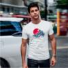 Kép 1/4 - Japán hullámok | grafikás férfi póló
