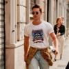 Kép 1/4 - Szamuráj koponya | grafikás férfi póló