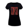 Kép 4/5 - Tokyo letter  | grafikás női póló