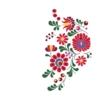 Kép 5/8 - Matyó virágok | grafikás női pamutpóló