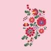 Kép 7/8 - Matyó virágok | grafikás női pamutpóló