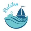 Kép 2/3 - Balaton hattyús   grafikás férfi póló