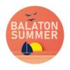 Kép 3/4 - BALATON SUMMER   grafikás női pamutpóló