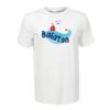 Kép 2/4 - Balatoni piros hajó | grafikás férfi póló