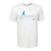 Kép 2/3 - Kék vitorlás Balaton | grafikás férfi póló