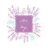 Kép 1/3 - Lavender design   grafikás vászontáska