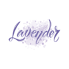 Kép 1/4 - Lavender paca | grafikás női pamutpóló