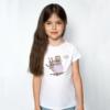 Kép 1/4 - Levendula fiola | grafikás lány pamutpóló