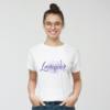 Kép 3/4 - Lavender paca | grafikás női pamutpóló