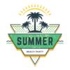 Kép 1/3 - Summer beach party   grafikás férfi póló