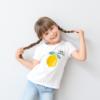 Kép 2/4 - Citom - hello summer | grafikás lány pamutpóló