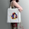 Kép 1/3 - Papagájos Frida   grafikás vászontáska