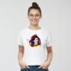 Kép 3/4 - Papagájos Frida | grafikás női pamutpóló