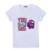 Kép 1/3 - YOU LOOK SUS | mintás Among us lány póló