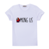Kép 1/3 - AMONG US PIROS FIGURA   mintás Among us fiú póló