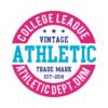 Kép 1/4 - Athletic |vintage university stílusú lány póló