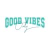 Kép 3/6 - Good Vibes Only | university stílusú női póló