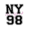 Kép 3/9 - NY 98 |university stílusú női póló