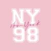 Kép 8/9 - NY 98 |university stílusú női póló