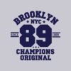 Kép 7/10 - Brooklyn 89  university stílusú női póló