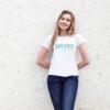 Kép 2/6 - Good Vibes Only | university stílusú női póló