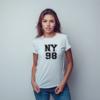 Kép 1/9 - NY 98 |university stílusú női póló