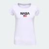 Kép 3/4 - NASA & USA flag | grafikás női pamutpóló