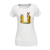 Kép 2/4 - Kiscicák sárga gumicsizmában   női pamutpóló