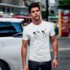 Kép 3/5 - bones   grafikás férfi póló