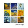 Kép 2/4 - Van Gogh 9 festménye | grafikás férfi póló