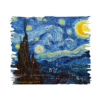 Kép 2/4 - Csillagos éj- Van Gogh | grafikás férfi póló