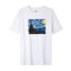 Kép 3/4 - Csillagos éj- Van Gogh | grafikás férfi póló