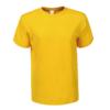 Kép 2/4 - Férfi pamut póló   citromsárga