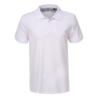 Kép 1/2 - Férfi galléros pamut póló   fehér