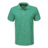 Kép 1/2 - Férfi galléros pamut póló   Benetton zöld