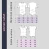 Kép 4/4 - Balaton | bicikli mintás női póló