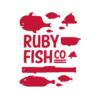 Kép 3/4 - Ruby Fish Co   grafikás férfi pamutpóló