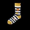 Kép 2/3 - Vidám NASA csikos kék zokni | Férfi VIDAM ZOKNI