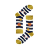 Kép 1/3 - Vidám NASA csikos kék zokni | Férfi VIDAM ZOKNI