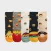 Kép 2/2 - Női vidám krumplis zokni | Női VIDAM ZOKNI