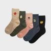 Kép 2/2 - Női vidám epres zokni | Női VIDAM ZOKNI