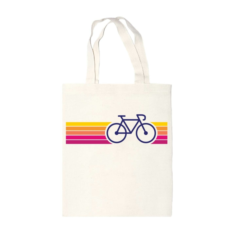 SzÍnes bicikli | bicikli mintás vászontáska