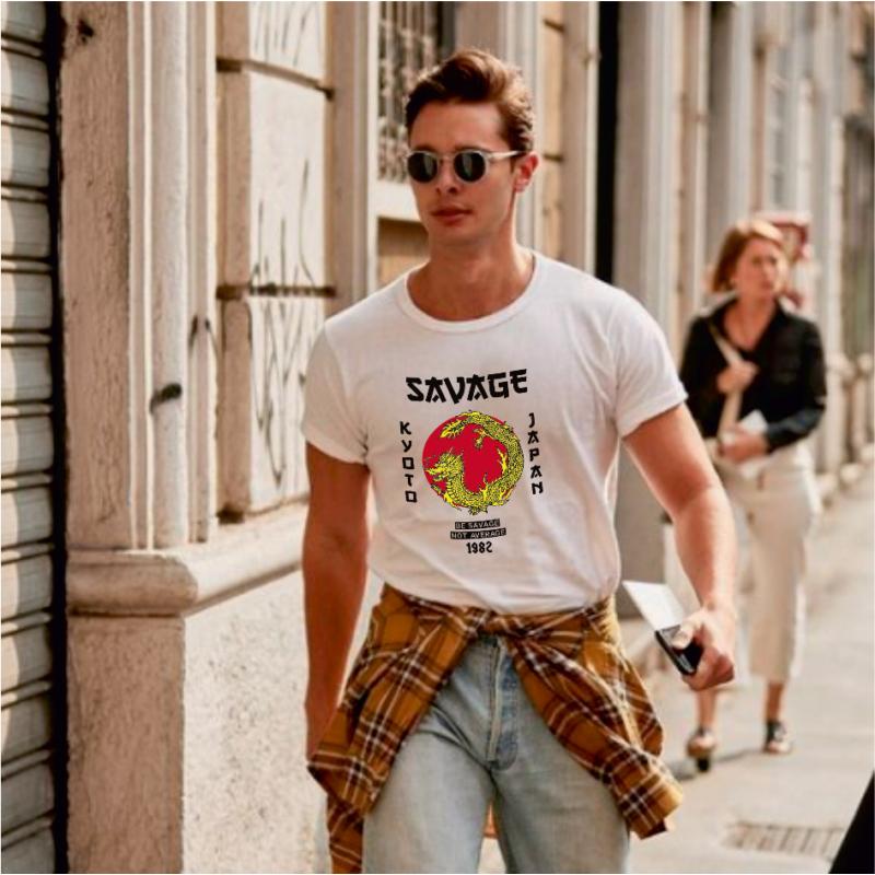Vad sárkány   grafikás férfi póló