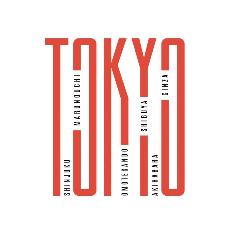Tokyo letter  | grafikás női póló