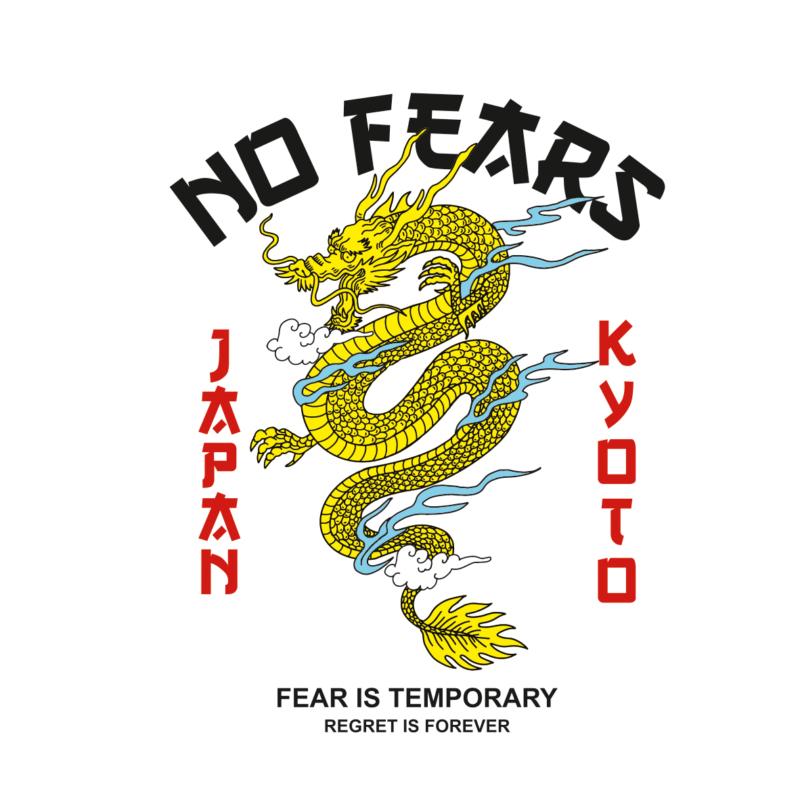 Kyoto sárkány | grafikás női póló